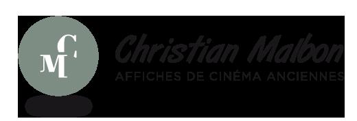 Affiches de cinéma anciennes par Christian Malbon