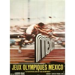 Jeux olympiques de mexico 60x80
