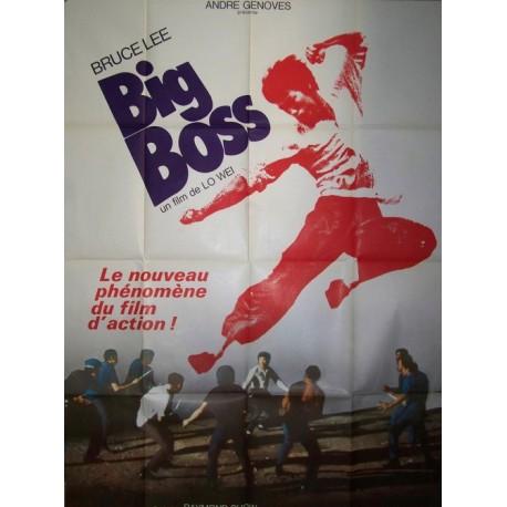 Big boss (bruce lee) 60x80 originale