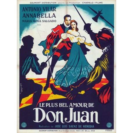 Plus bel amour de don juan (le) 60x80