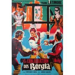 Conjuration des borgia (la) 120x160