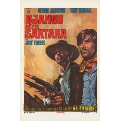 Django défie Sartana.35x55