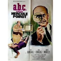 A.B.C contre Hercule Poirot.60x80