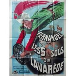 Cinq so de Lavarede (Les).120x160