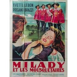 Milady et les mousquetaires.120x160