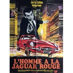 Homme à la Jaguar rouge (L').60x80