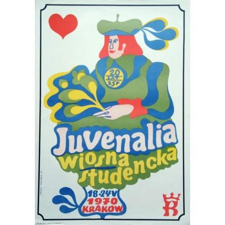 Juvenalia wiosna studencka.58x84