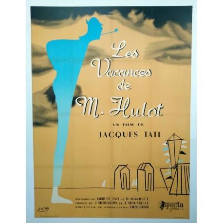 Vacanes de monsieur Hulot (Les).120x160