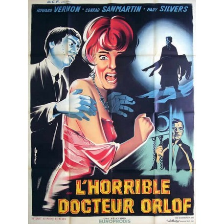 Horrible docteur Orlof (L').120x160