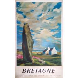 Bretagne chemin de fer Français.62x99