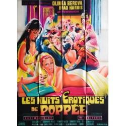 Nuits érotiques de poppée (Les).120x160