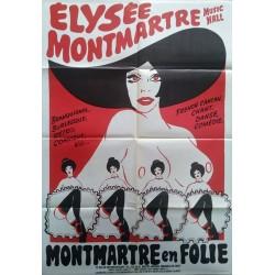 Elysée Montmartre music hall.80x115