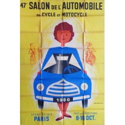 Salon de l'automobile du cycle et du motocycle 1960.155x230