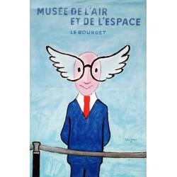 Musée de l'air et de l'espace le Bourget.40x60