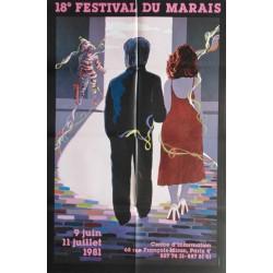 18 ème festival du Marais.80x120