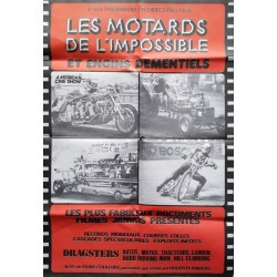 Motards de l'impossible (Les).68x98