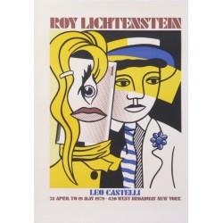 Roy Lichtenstein Léo castelli.66x91