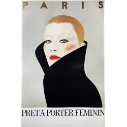 Paris prêt à porter féminin mode.60x90