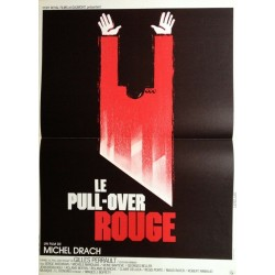pull-over rouge (Le).40x60