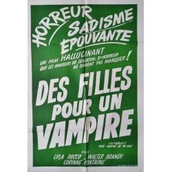 Des filles pour un vampire.80x120
