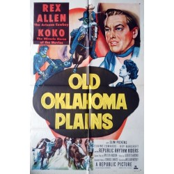 Old Oklahoma plains.70x100