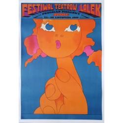 Festival de théâtre de marionnettes.Festiwal teatrow lalek.67x97