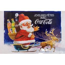 Joyeuses fêtes avec Coca Cola.120x80