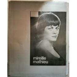 Mireille Mathieu.plaque d'imprimerie.120x160