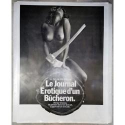 Journal érotique d'un bûcheron (Le) plaque d'imprimerie.120x160