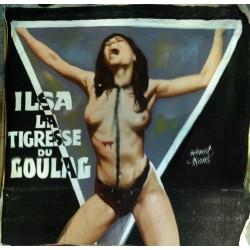 Ilsa la tigresse du goulag.280x310.toile bâche peinte