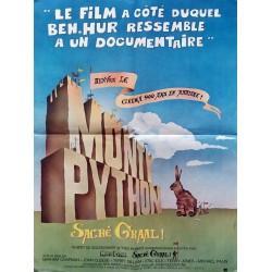 Monty Python sacré graal.60x80