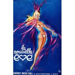 Cabaret meneuve de revue la nouvelle Eve.38x58