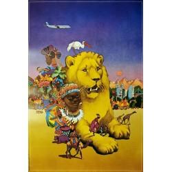 UTA Afrique.65x97