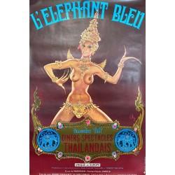 Elephant bleu (L') diners spectacles Thaïlandais