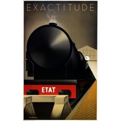 Exactitude Fix Masseau.62x100 train à vapeur