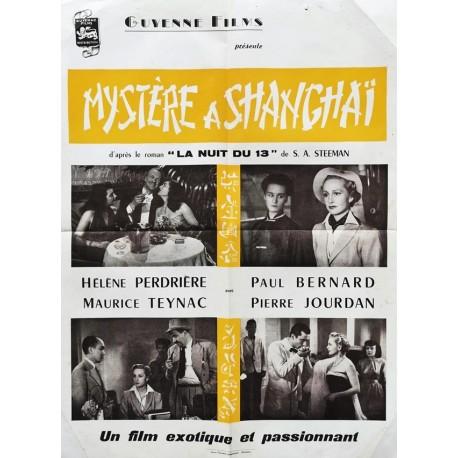 Mystère a Shangaï (Le).60x80