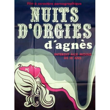 Nuits d'orgies d'Agnès.120x160