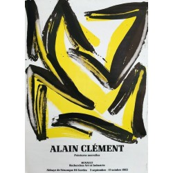 Alain Clément peintures nouvelles Gordes 50x70