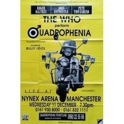 The Who quadrophenia Nynex arenan Manchester 120x160