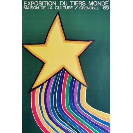 Exposition du tiers monde Grenoble 1969 40x60