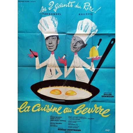Cuisine au beurre (La) 120x160