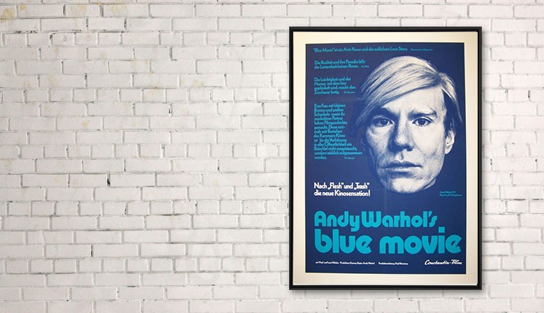 Blue movie - Andy Warhol
