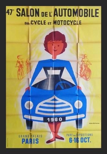 Salon de l'automobile 1960