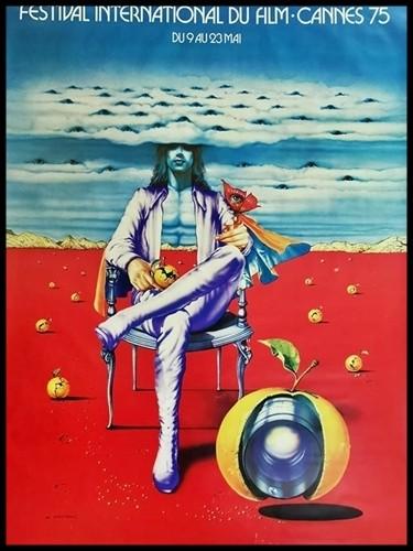 affiche festival de Cannes 1975